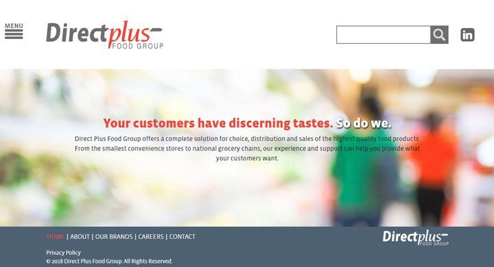 Direct Plus Food Group