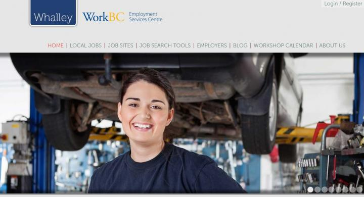 Whalley WorkBC has a new website