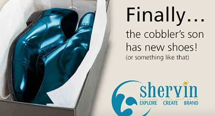 The Cobbler Has New Shoes!