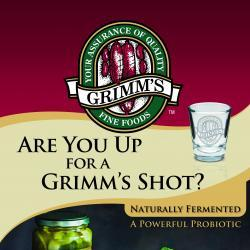 Grimm's Fermented Foods Retractable Banner