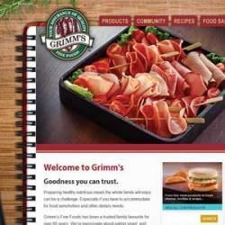 Grimm's responsive website