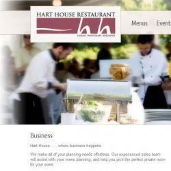Hart House Restaurant website
