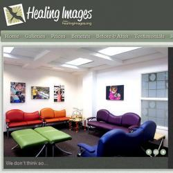 Healing Images website