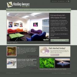 Healing Images website