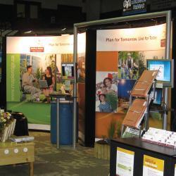 District of Maple Ridge tradeshow booth