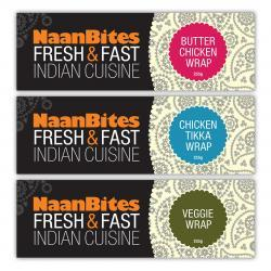 NaanBites product packaging