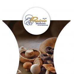 Prairie Mushrooms tradeshow booth