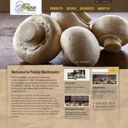 Prairie Mushrooms website