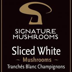 Signature Mushrooms product labelling